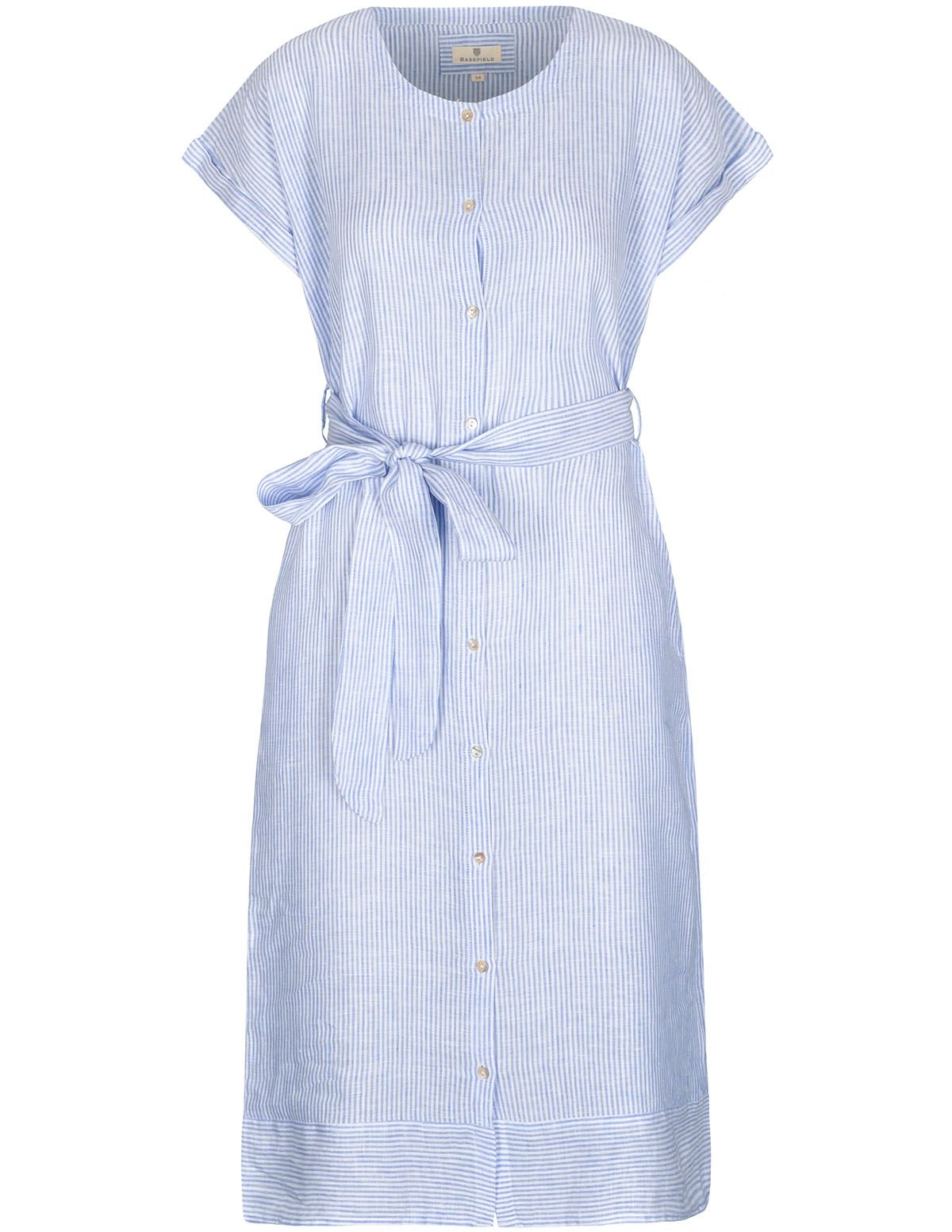 Leinenkleid - Summerblue Stripe