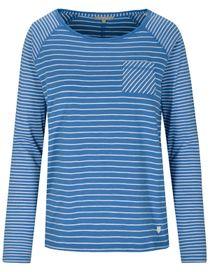 Streifenshirt ANDREA - River Blue