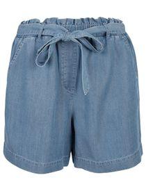 Shorts Tencel Denim Optik - River Blue