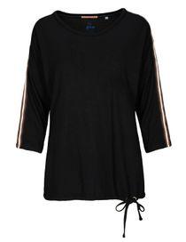 FRY DAY Shirt mit 3/4 Ärmel - Black